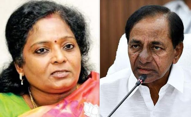 trs commends telangana governor comments on ts govt over corona virus