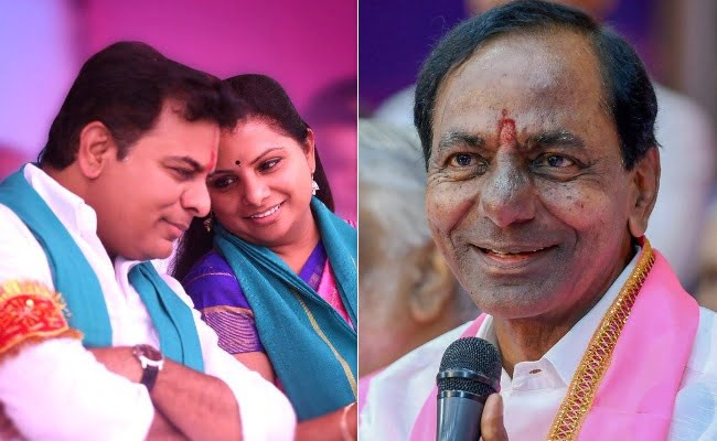 cm kcr big plan for his son and duaghter