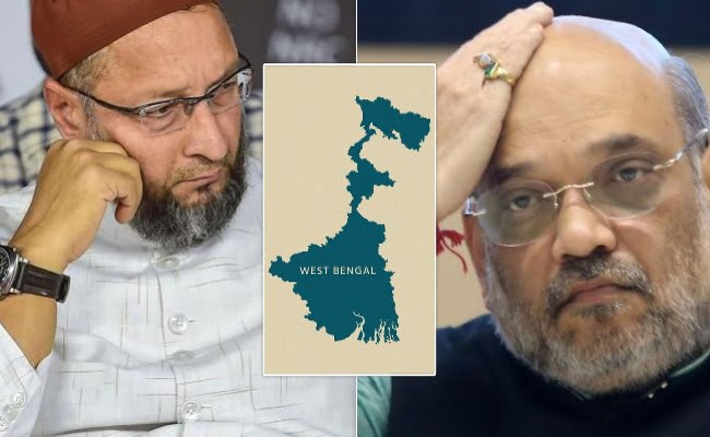 shocking news on bjp and aimim alliance