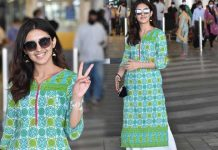 Malvika sharma Airport Looks