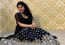 Shriya Sharma Black Dress Pictures