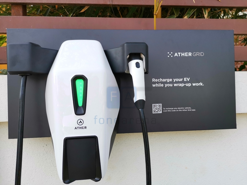 10 Charging stations : opened Ather energy