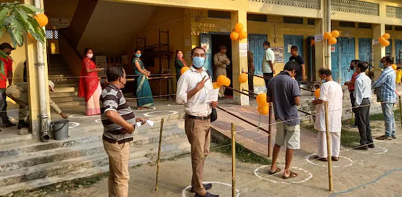 Ongoing Assembly Elections  polling in five states