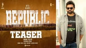 Republic Teaser : released by Sukumar