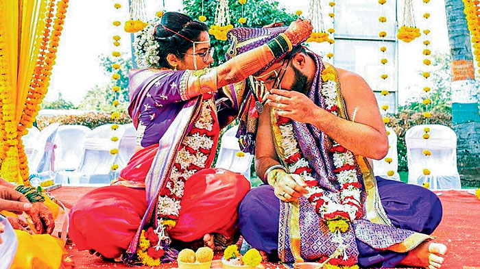 Viral Marriage: The bride who tied the mangalasutra to the groom