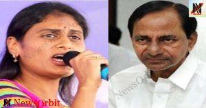 YS Sharmila Fires On KCR