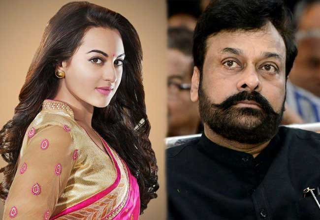 Sonakshi sinha is pairing up with chiranjeevi