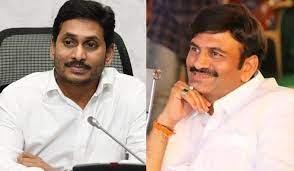 MP Raju makes YS Jagan villain in parliament