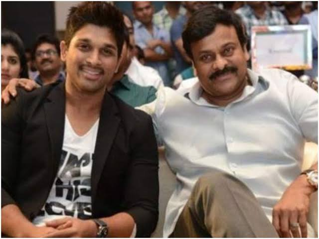 Pushpa: movie special song entry on chiranjeevi