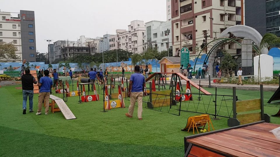 Special Dog Park: with 3.5 crores