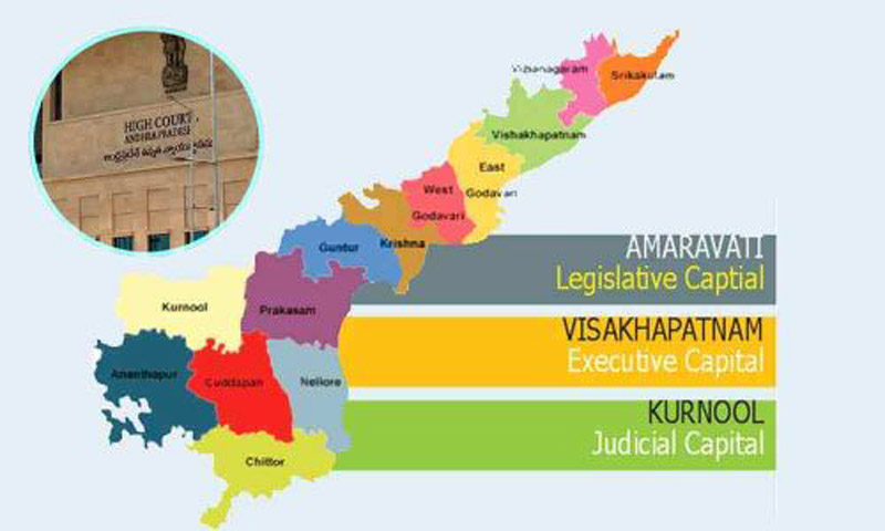 Union Home ministry not clarifies on AP Capital