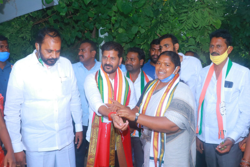 Revanth Reddy operation revers akarsh trs and bjp leaders joining congress
