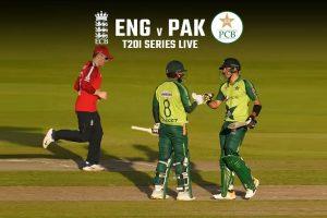 ENG vs PAK babar azam and Rizwan shines in 1st t20