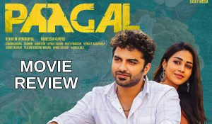 Paagal Review Vishwak Sen Shines in a mediocre subject