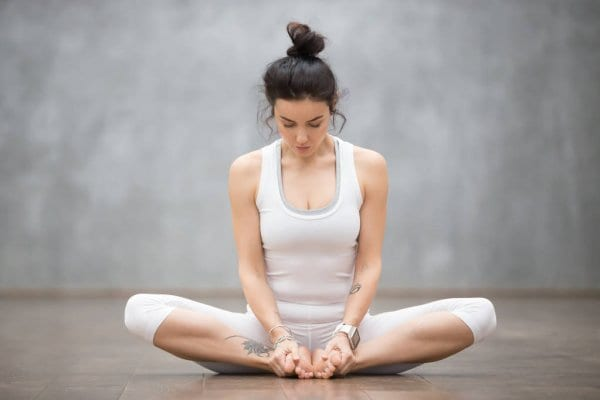 Butterfly Asana: reduces weight loos