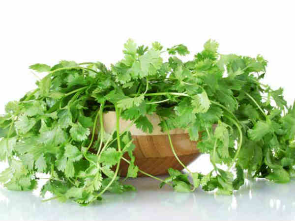 Coriander: for health and beauty skin