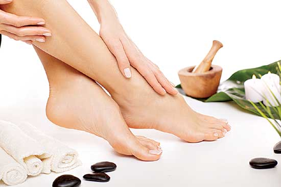 Ayurvedic remedies for heel and  Foot Pain: