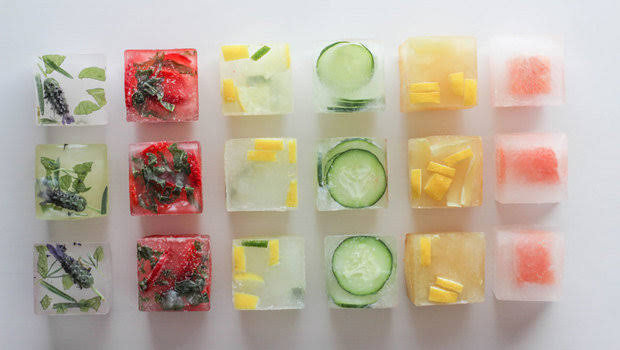 Regularly Rubbing Ice Cubes: on Face excellent results